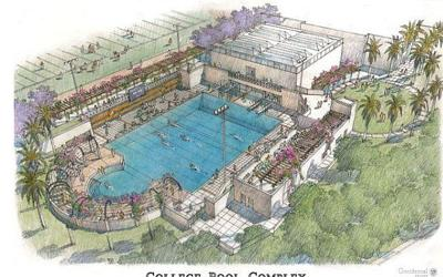 New aquatic center to replace historic Taylor Pool at Occidental College