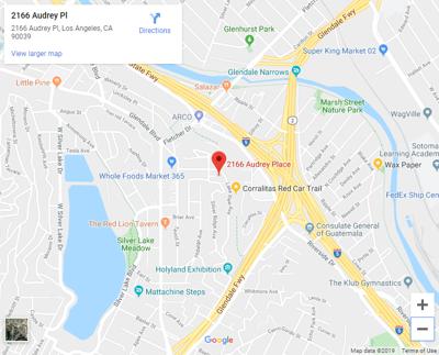 Audrey Place Map