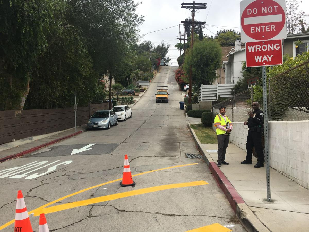 One-Way Starting Today: Echo Park's Baxter Street takes a new direction