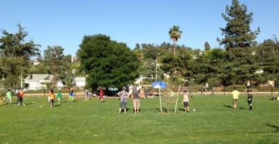 Soccer and birthday parties take over Silver Lake Meadow
