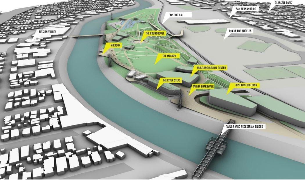 Taylor Yards River Park Concept Rendering