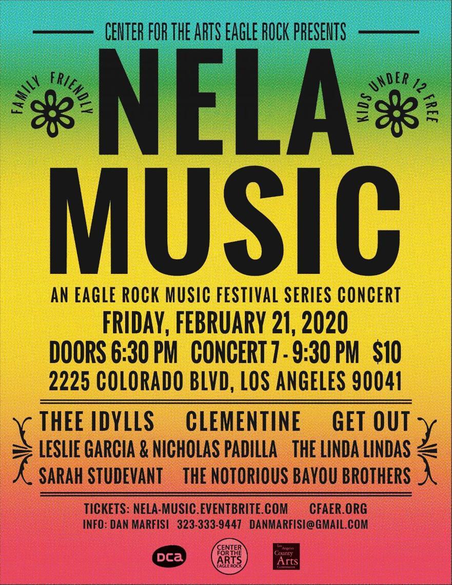 NELA Music Series Winter 2020