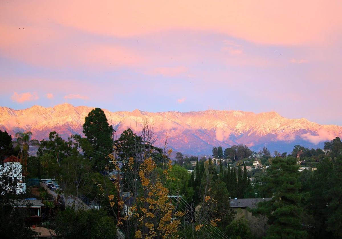 Winter wonderland view