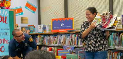 Boyle Heights librarian juggles work and parenting from home
