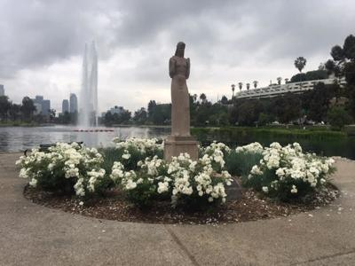 Lady of the Lake on a Gray Day