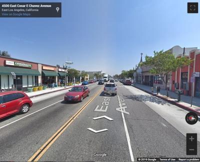 4500 block Cesar Chavez East LA