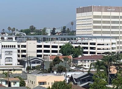 Angeles Temple Parking Garage Solar project