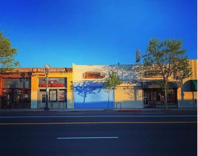 Empty Figueroa Street