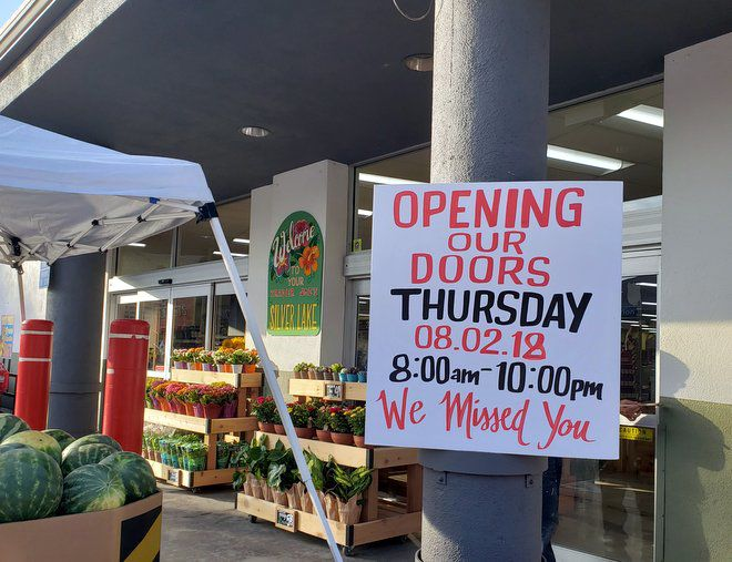 """""""It was very emotional … I'm a little choked up"""" — Silver Lake returns to its Trader Joe's"""