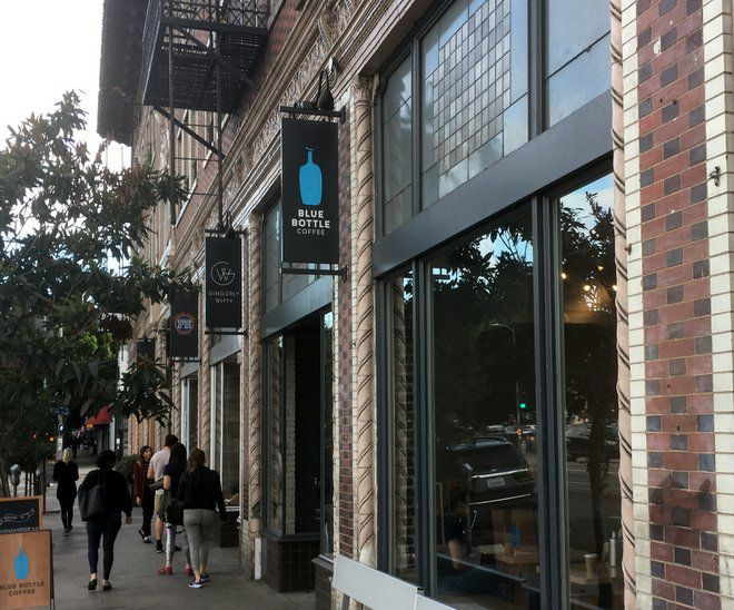 Blue Bottle Coffee leaving Echo Park cafe society behind