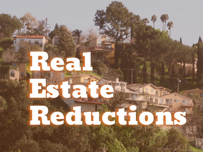 Real Estate Reductions Cover