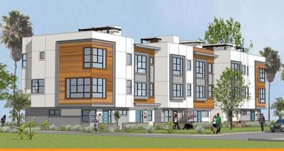 New townhouses to crown a Silver Lake hilltop