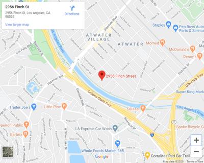 map of finch street