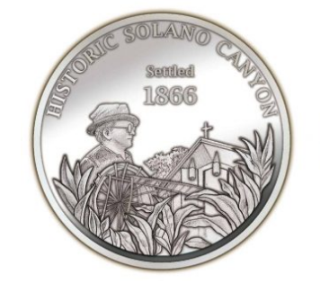 Solano Canyon turns 150 this month – with commemorative coins to mark the event