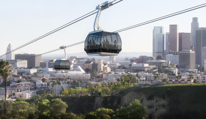 Will Dodger fans take a 5-minute gondola ride to the game?
