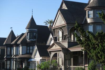 Carroll Avenue Victorians Angeleno Heights Angelino Heights