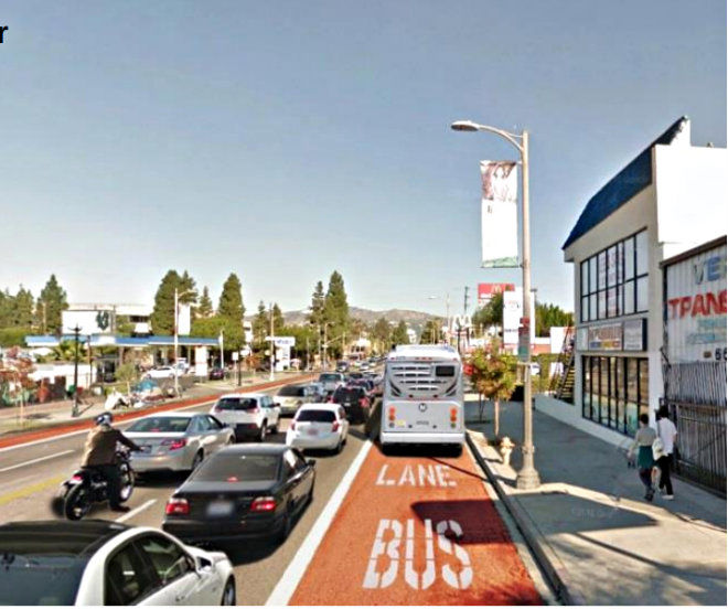 Vermont Avenue Trade-Off: Bus-only lanes would speed up the ride but reduce parking