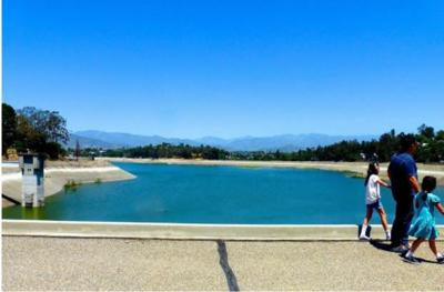 New South Dam walking path will offer the best views of the Silver Lake Reservoir