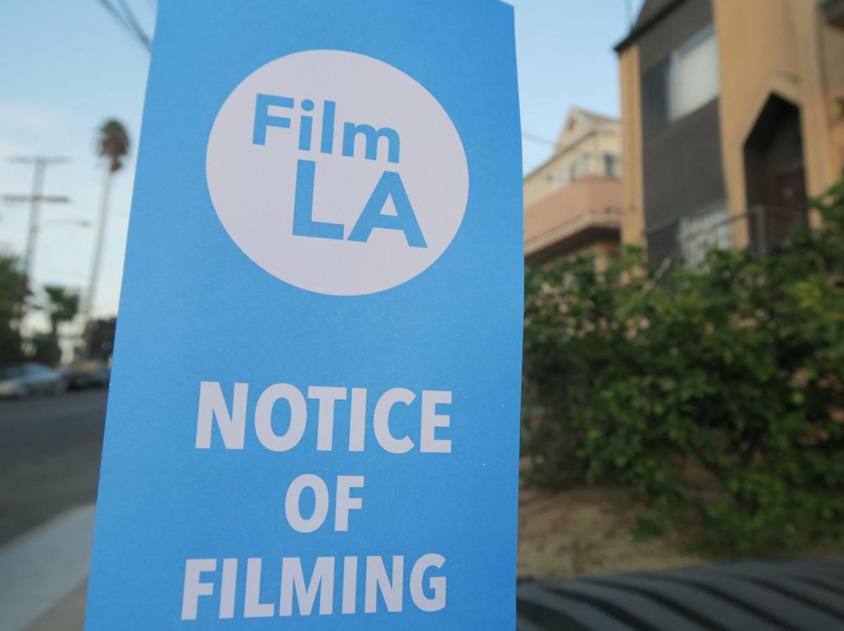 Filming Notice Film LA