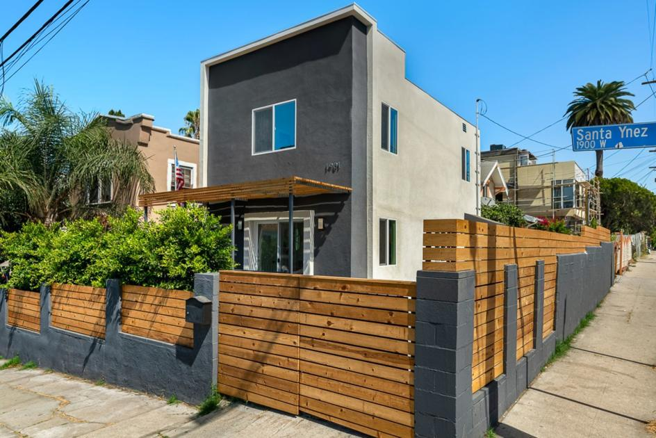 This two-story modern home in the heart of Echo Park has been fully rehabbed with designer finishes