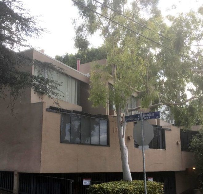 Silver Lake Roberts apartments by Allyn E. Morris