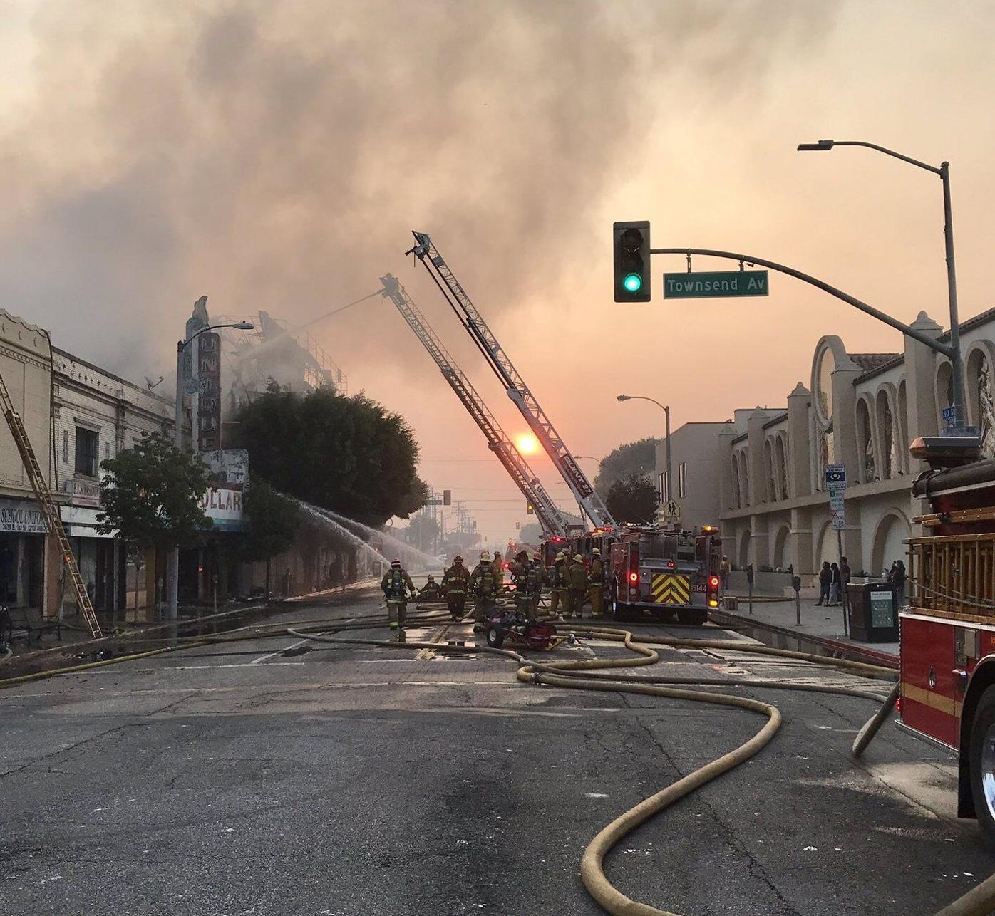 1st and Rowan apartment fire