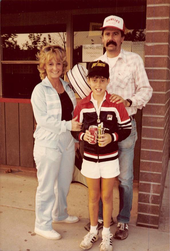 Matt Giamela's and his family
