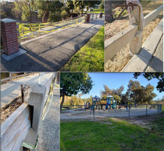 Eagle Rock park is less than welcoming to visitors with disabilities