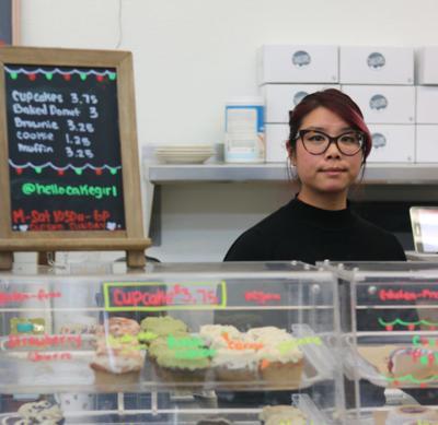 Vegan baker, Amy Tam of Cake Girl
