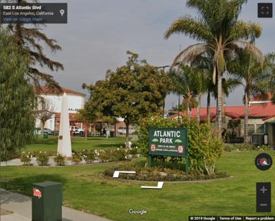 Atlantic Avenue Park East Los Angeles