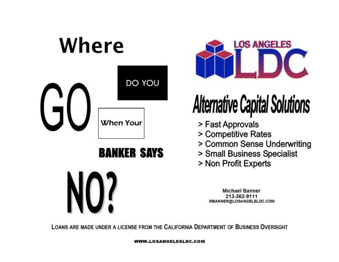 We Don't Pretend, We Just Lend!  — Los Angeles LDC