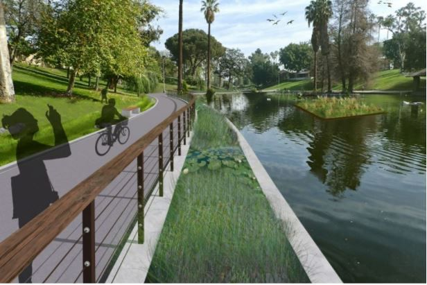 Boyle Heights' Hollenbeck Park Lake preparing for a major makeover