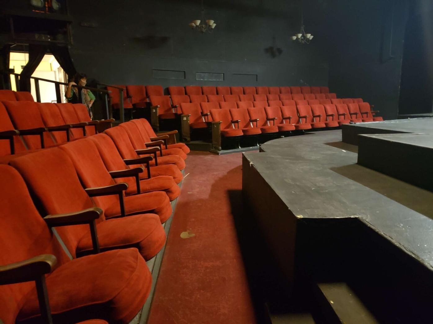 Flores looks at theater