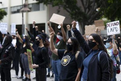 BLM protest at Cal State LA