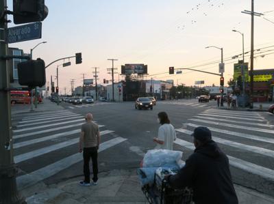 Sunset and ALvarado in Echo Park