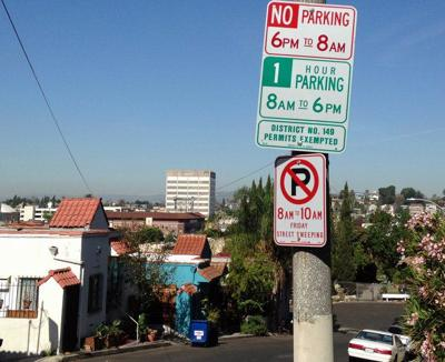 Permit parking spreads in Echo Park