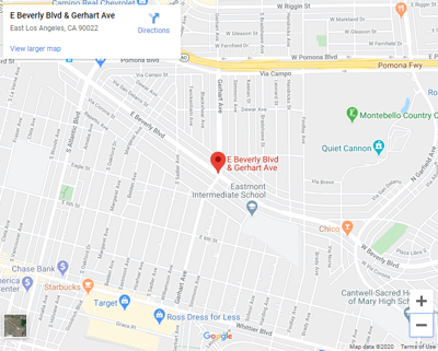 map of beverly and gerheart