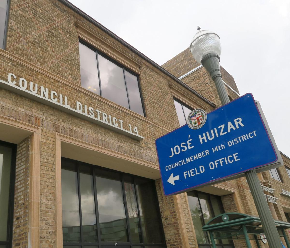 Jose Huizar field office