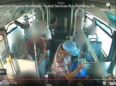 Jury convicts man of fatally stabbing East L.A. bus rider