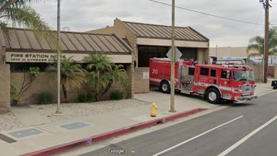 L.A. Fire Department Station 44 in Cypress Park