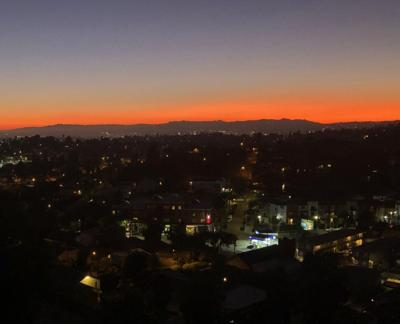 Sunset view from Sargent Place