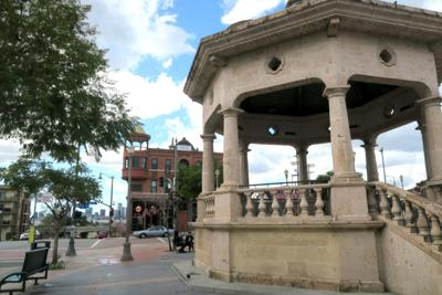 Mariachi Plaza Boyle Heights street scene