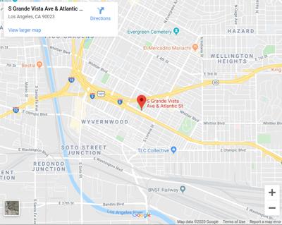 Google Map of Grande Vista and Atlantic
