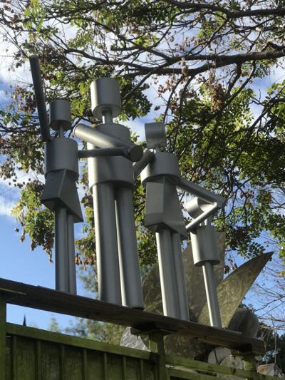 Peter Shire studio sculpture in Echo Park
