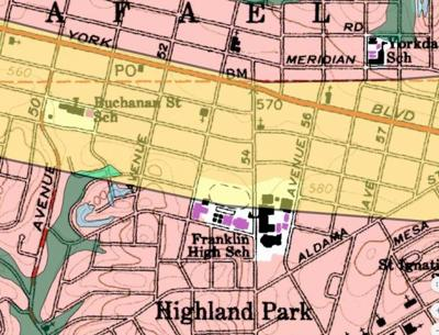 What's shakin' on York?  Fault line extends under Eagle Rock, Glassell Park and Highland Park