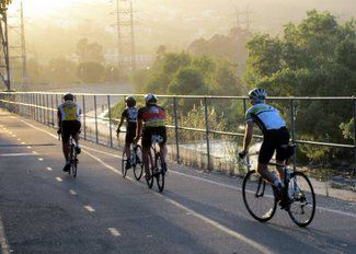 Police make arrests in L.A. River bike path robbery