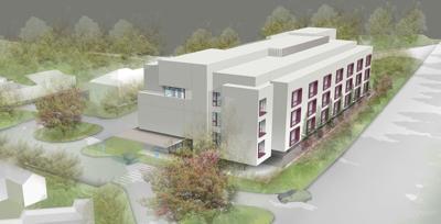 Barlow Skilled Nursing Facility rendering