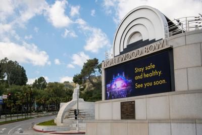 The Hollywood Bowl is closed due to the Novel Coronavirus