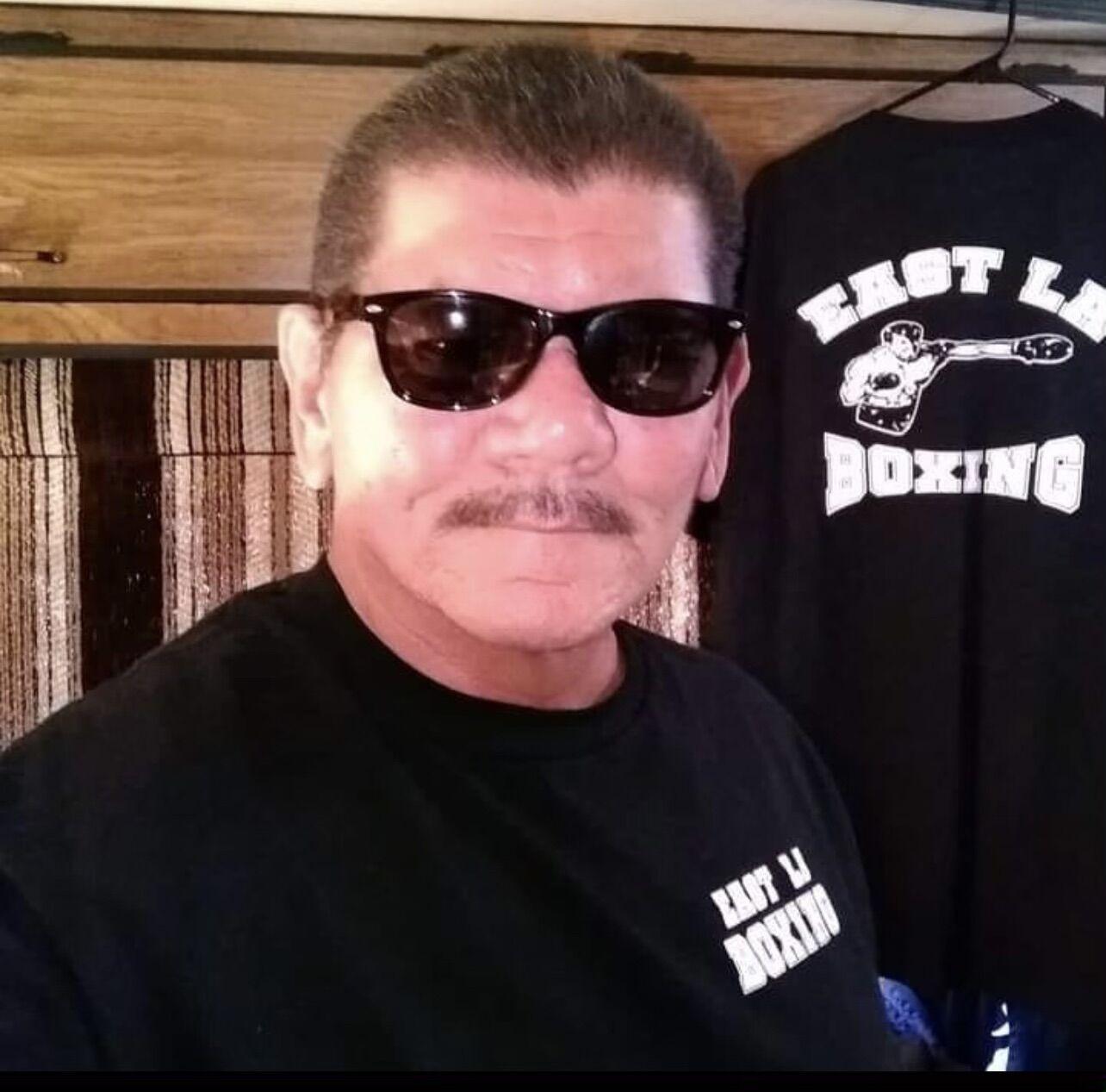 Boxing coach Paul Hernandez
