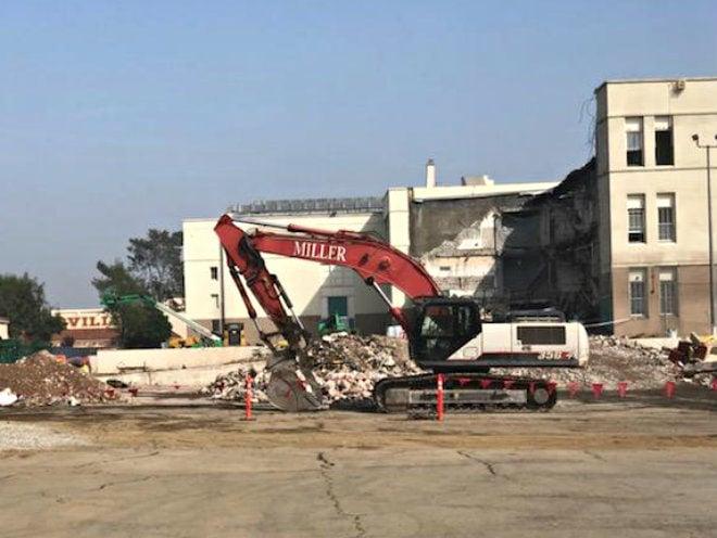 Demo work at Boyle Heights' Roosevelt High halted after asbestos discovered
